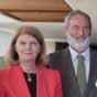 Professor David McInnis (CEO EarthWatch Institute), Her Excellency Penelope Wensley, Dr Alistair Melzer (CQUni), Dr Geoff Garrett (Chief Scientist of Queensland)
